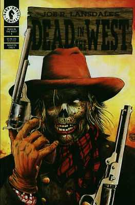 Dead in the West #1 in Near Mint - condition. FREE bag/board