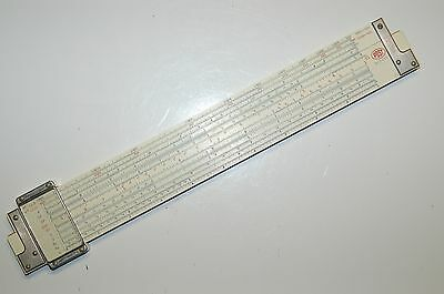 Frederick Post Co. Versalog 1460 Hemmi Bamboo Slide Rule with Leather Case
