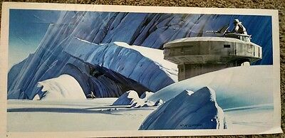 1980 Ralph McQuarrie Star Wars Empire Strikes Back Production Print #3 Han