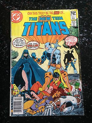 New Teen Titans 2 1st Deathstroke Affordable Copy 3.0