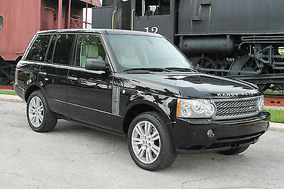 2009 Land Rover Range Rover Supercharged Sport Utility 4-Door 2009 Land Rover Range Rover Supercharged-FLA-kept-Rear Entertainment-PDC-Tow Pkg