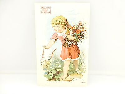 Vintage Victorian James Pyle's Pearlne Washing Compound Trading Card