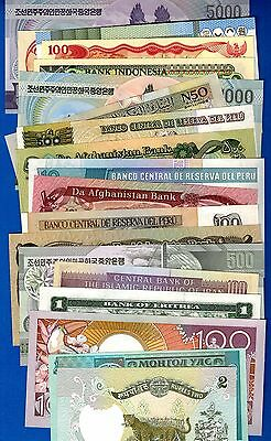 Five Uncirculated World Banknotes Only $3.99 With FREE SHIPPING WB101