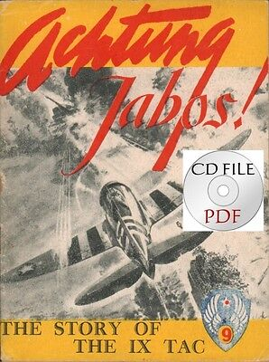 CD File - Achtung Jabos! The Story Of The IX TAC - By The Stars and Stripes