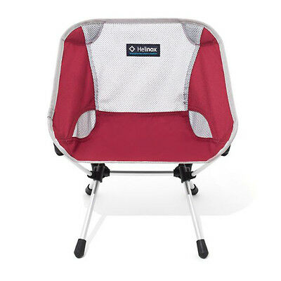 Helinox Chair One MINI Rhubarb Red DAC LightWeight Good Durability Compact Size