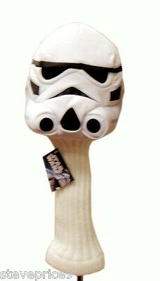 Nuevo Oficial Star Wars Stormtrooper Palo Driver Golf Headcover