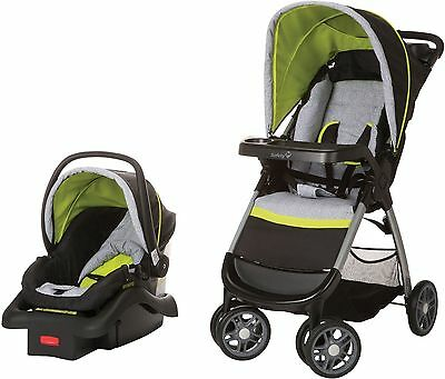 Baby Car Seat Stroller Travel System Infant Seats With Canopy Adjustable Base