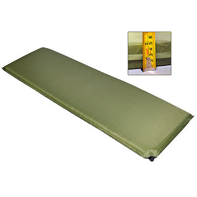 Clearance Sale Self Inflating Single Camping Mat 5cm Oliver Green