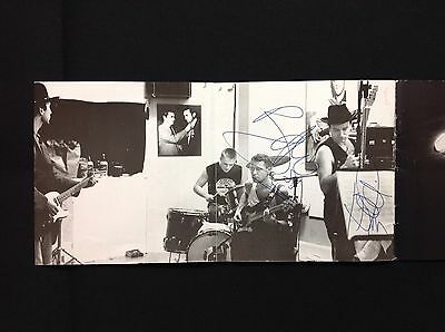 """U2 Signed x 2 """"Rattle And Hum"""" CD on 10/7/89 in Melbourne"""