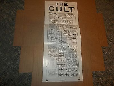 The Cult Band Family Tree Promo Only Poster
