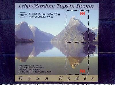 newzealand / 1990 leigh-mardon-tops in stamps /mnh.good condition
