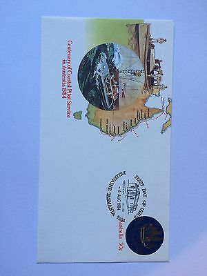 First Day Cover AUST 1984 - PRINTED STAMP. TAS 7304