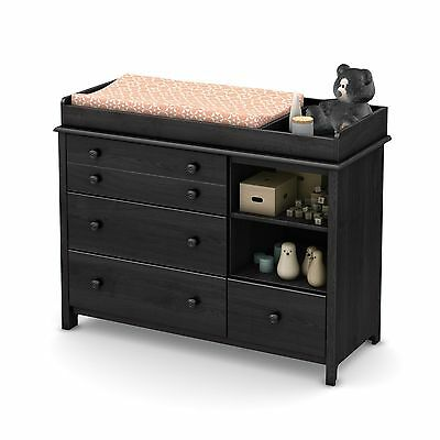 South Shore Furniture Little Smileys Changing Table with Removable Station Gr...
