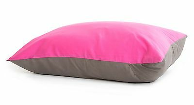 Baby Deedee Standard Size Pillow Case 1-Pack Slate/Hot Pink