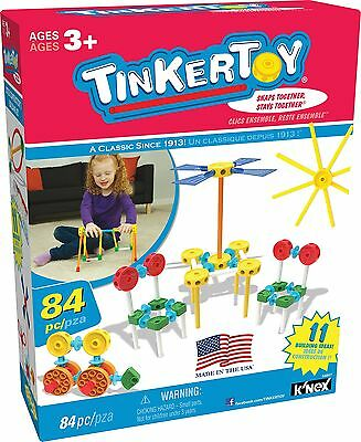Knex Tinkertoy Little Constructor's Building Set Standard Packaging
