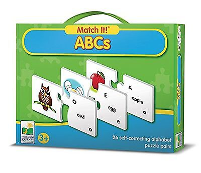 The Learning Journey Match It!-ABCs Puzzle ABCs Frustration-Free Packaging