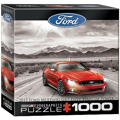 Eurographics Ford Mustang 2015 Jigsaw Puzzle (Small Box) (1000-Piece)