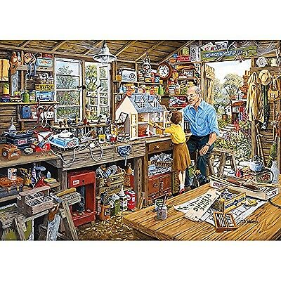 Gibsons Granddad's Workshop Jigsaw Puzzle (1000-Pieces)