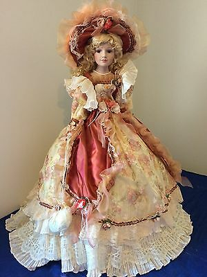 Large 85cm Porcelain Doll - Lara