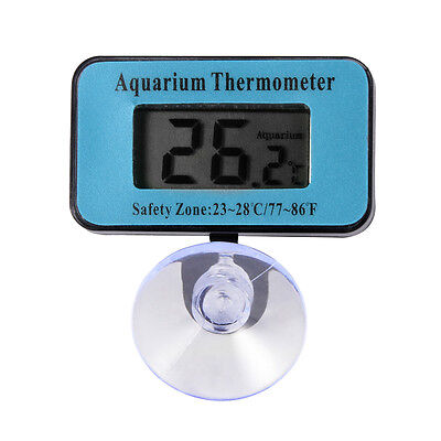 LCD Waterproof Fish Aquarium Water Tank Submersible Temp Thermometer Meter BI257