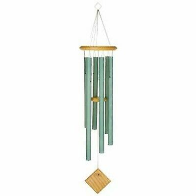 Woodstock Chimes Encore Collection Verdigris Chimes of Earth Windchime