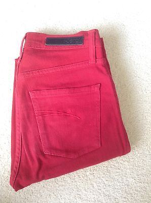 Nobody Highwaisted Red Jeans Size 26