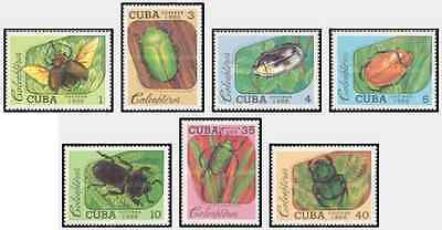 Timbres Insectes 2857/63 ** lot 17064