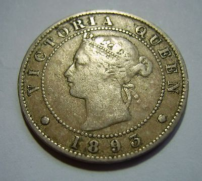 Jamaica 1893 Halfpenny in Collectable grade