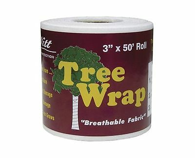 Dewitt 3-Inch by 50-Foot Tree Wrap White TW3W 1Pack