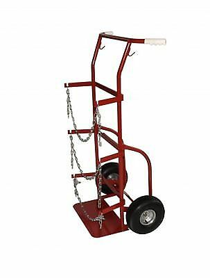 Milwaukee Hand Trucks 40765 Delivery Cylinder Truck 2 Gas Cylinders