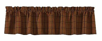 Park Designs Primitive Spice Valance 72 by 14-Inch