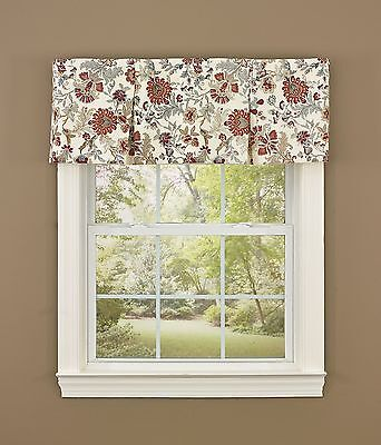 Park Designs Beckett Lined Pleated Valance 45 X 15-Inch