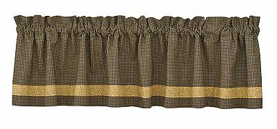 Park Designs Country Star Lined Border Valance 72 X 14-Inch