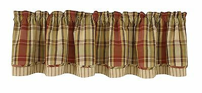 Park Designs Heartfelt Lined Layer Valance 72 X 16-Inch