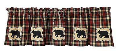 Park Designs Concord Bear Lined Valance 60 X 14-Inch