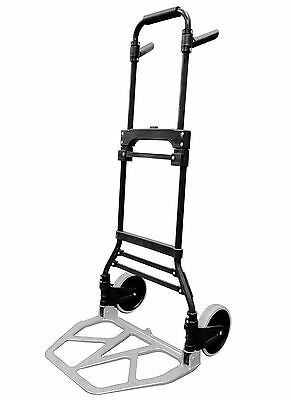 Milwaukee Hand Trucks 33894 Steel and Aluminum Fold up Hand Truck with 7-Inch...