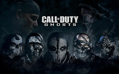 Call Of Duty Ghosts Art Silk Poster Room Decor 24x36inch
