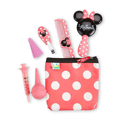 Disney Baby Minnie Mouse Infant Girl's 10-Piece Health Grooming Kit