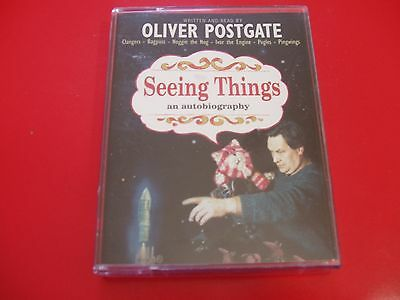 Oliver Postgate Seeing Things bagpuss An autobiography audio book 2 cassettes