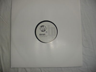 "New 12"" Test Pressing By Ben Kaye"