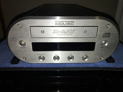musical fidelity xray cd player