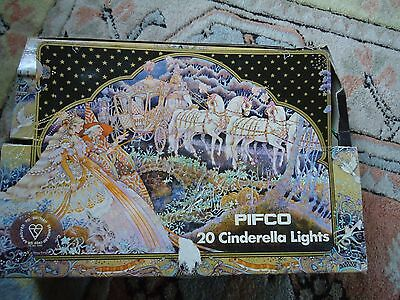 Vintage Pifco 20 Cinderella Lights Boxed and Working Order