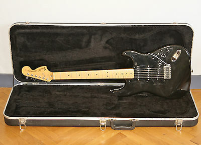 "FENDER STRATOCATER JAPON 1994/95 "" ALL BLACK "" SET MICRO "" Fat 50's Pick-up """