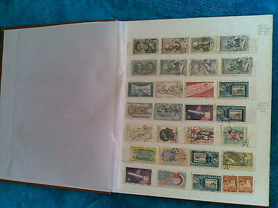 Great Britain,czechoslovakia.canada Stamps Collection Album