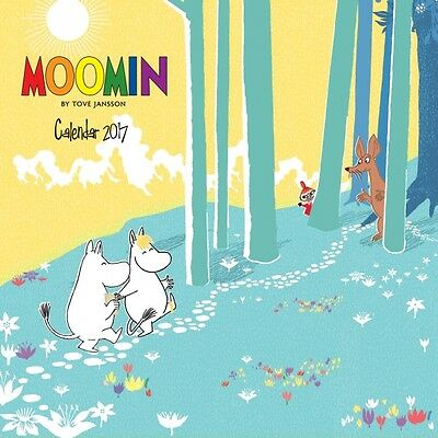 Moomin Wall Calendar 2017 ~  Flame Tree Art Calendar ~ NEW