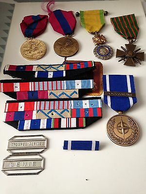 lot medailles militaires