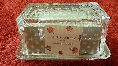 Laura Ashley butter dish - Brand new in packaging  - Ideal gift