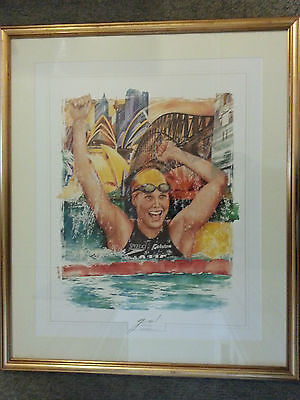 Susie O'neil Signed Print With Coa