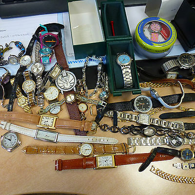 Job Lot of Watches for Spares Job Lot of 48