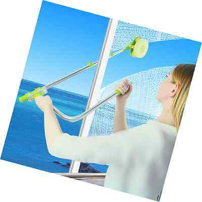 Zuwit Telescopic Window Cleaner Double Faced Glass Cleaning Kit Extending Wash H